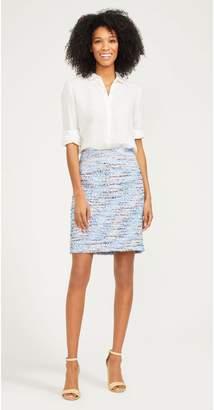 J.Mclaughlin Elm Skirt in Tweed