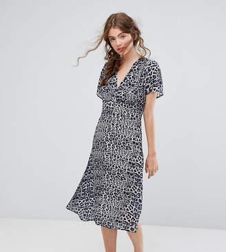 Lily & Lionel Exclusive Leopard Midi Dress