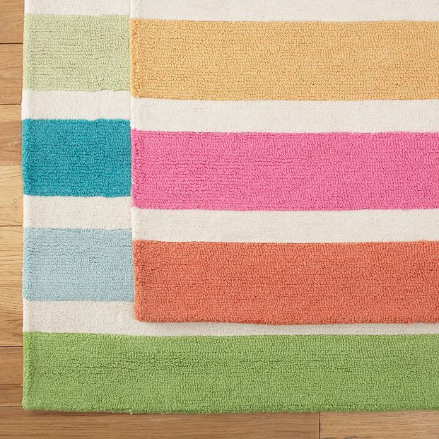 Tropical Punch Stripe Rug