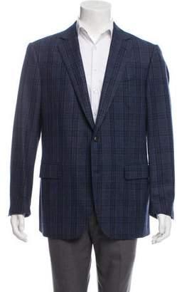 Pal Zileri Wool Plaid Blazer