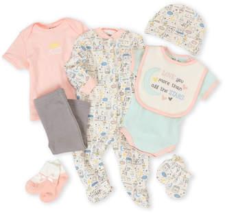 Baby Gear Newborn Girls) 9-Piece You Are My Sunshine Hanging Gift Set
