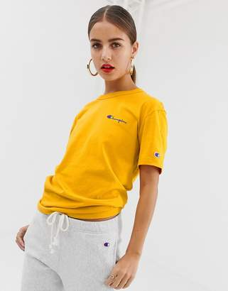 Champion relaxed t-shirt with front logo