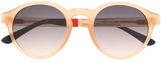 Linda Farrow round frames sunglasses