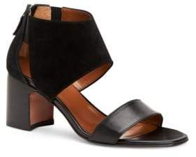 Aquatalia Enid Leather & Suede Sandals