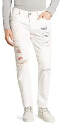 Polo Ralph Lauren Sullivan Distressed Slim-Fit Jeans
