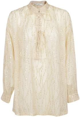IRO Embellished Shirt Dress