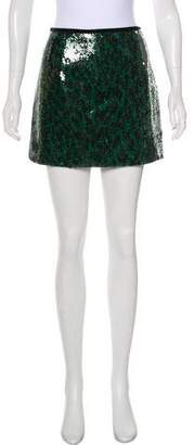Marc Jacobs Sequin Mini Skirt w/ Tags