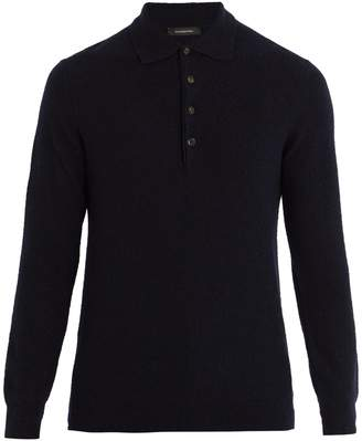 Ermenegildo Zegna Cashmere and silk-blend polo sweater