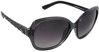 Red Carpet Women's Melanite Polarized Round Sunglasses