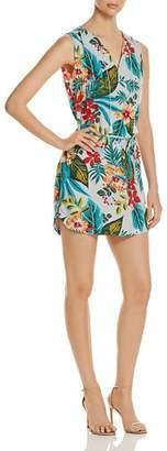 DAY Birger et Mikkelsen BeachLunchLounge Tropical-Print Sleeveless Shirt Dress