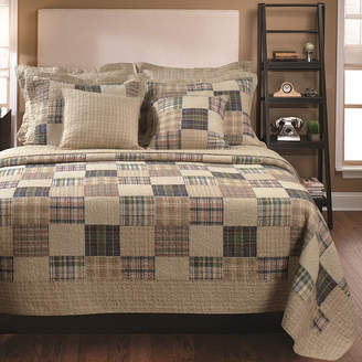 Greenland HOME FASHIONS Home Fashions Oxford Plaid Quilt Set
