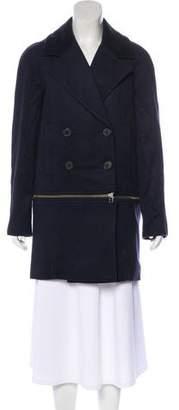 Veronica Beard Virgin Wool Blend Short Coat