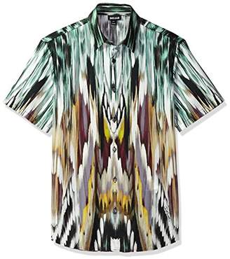 Just Cavalli Men's Collared Button Down