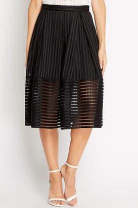 Soprano A-Line Black Skirt