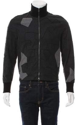 3.1 Phillip Lim Wool Patchwork Jacket