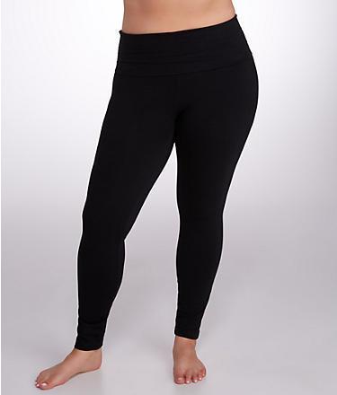 Hard Tail Rolldown Ankle Yoga Leggings Plus Size