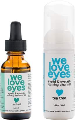 We Love Eyes All Natural Tea Tree Eye Makeup Remover Kit