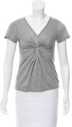 ICB V-Neck Short Sleeve Top