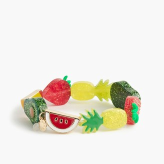 Girls' elastic fruit bracelet $14.50 thestylecure.com