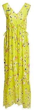 Tanya Taylor Women's Catalina Sleeveless Print Maxi Dress - Size 0