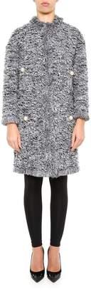 Edward Achour Paris Long Tweed Coat