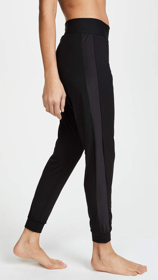 Butter and Satin Tuxedo Jogger