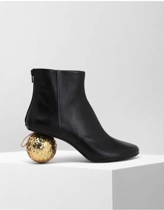 MM6 MAISON MARGIELA Christmas Ball-Heeled Ankle Boots