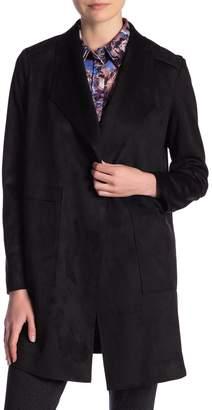Catherine Malandrino Long Sleeve Faux Leather Jacket