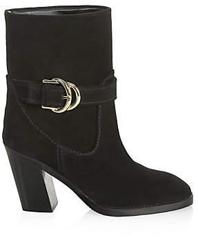 Stuart Weitzman Women's Virgo Suede Ankle Boots