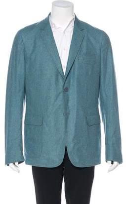 Gucci Wool-Blend Two-Button Blazer