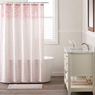 Lauren Conrad Confetti Shower Curtain