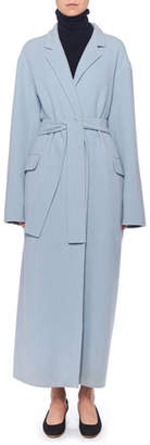 The Row Amoy Cashmere-Wool Trench Coat