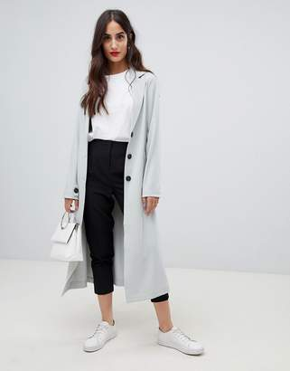 M·A·C Y.A.S tie waist duster coat