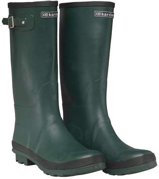 Karrimor Mens Wellington Boots Green/Black