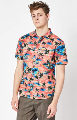 Vans Dystopia Short Sleeve Button Up Shirt
