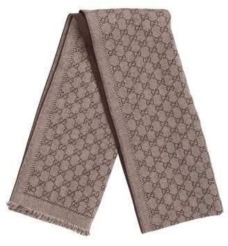 Gucci Guccissima Wool Scarf