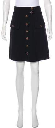 Barbara Bui Bui by Knee-Length Button-Up Skirt