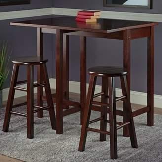 Red Barrel Studio Bettencourt 3 Piece Counter Height Pub Table Set Red Barrel Studio