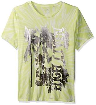 GUESS Men's Short Sleeve Basic High Livin' Crew Tee