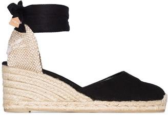 Castaner Carina 60 ankle-tie wedge sandals