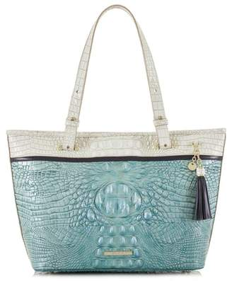 Brahmin Medium Asher Embossed Leather Tote