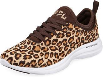 APL Athletic Propulsion Labs Apl: Athletic Propulsion Labs Phantom Calf Fur Running Sneakers