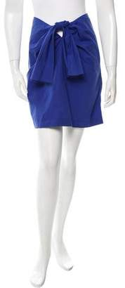Cacharel Poplin Mini Skirt
