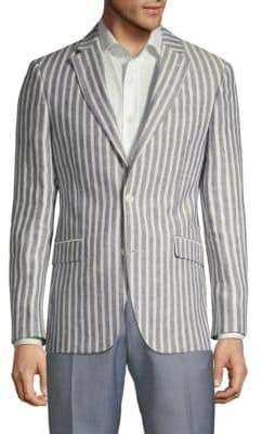 Tommy Hilfiger Striped Linen Sportcoat