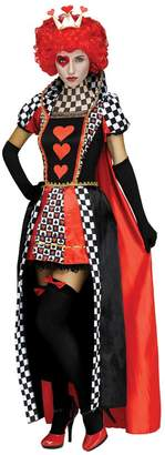 Fun World Costumes Womens Queen of Hearts Checkerboard Costume size M/L 10-14