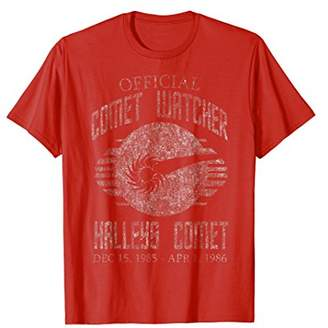 Vintage Official Comet Watcher Halley's Comet T-Shirt