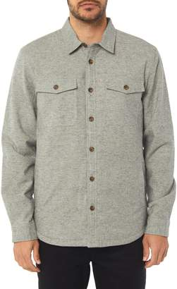 O'Neill Gravel Lined Flannel Shirt Jacket