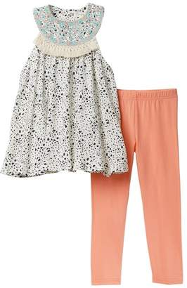 Jessica Simpson Top with Leggings Set (Toddler Girls)