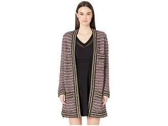 M Missoni 3/4 Length Boucle Coat