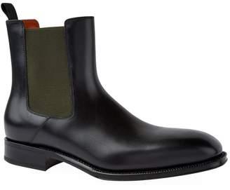 Alexander McQueen Leather Goodyear Chelsea Boots